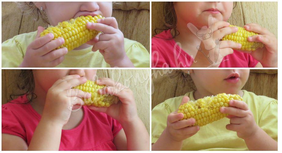 kukorica majszolás babakonyha