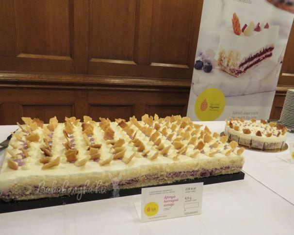 Magyarország Cukormentes Tortája 2016