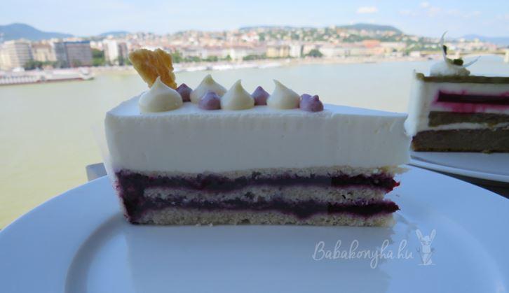 Magyarország Cukormentes Tortája 2016 szelet Duna