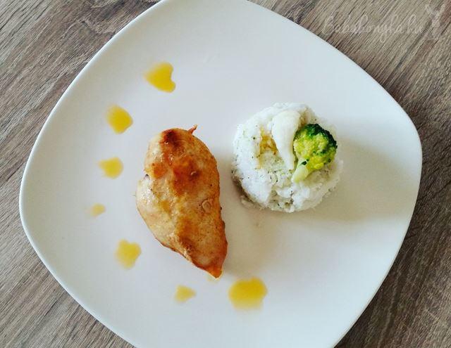 csirke brokkolis-karfiolos rizzsel