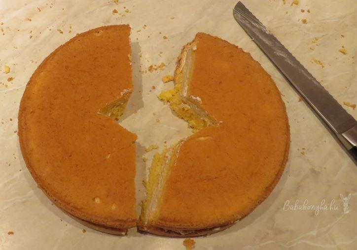 pillangó torta tejmentes laktózmentes fruktózmentes