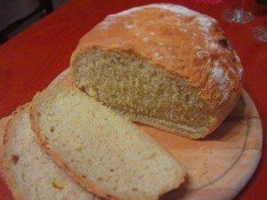 Újévi burgonyás kenyér