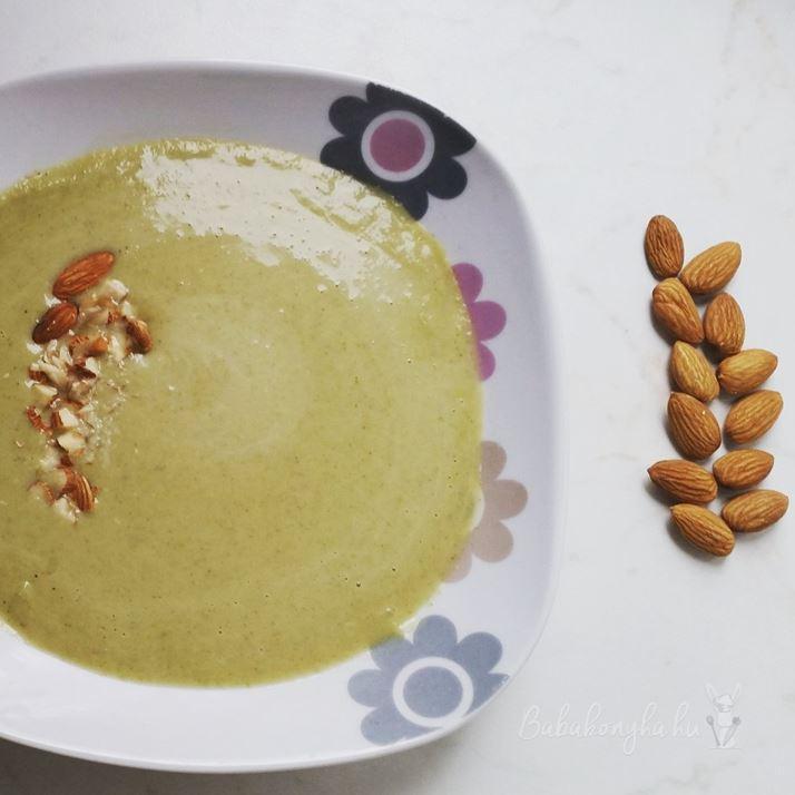 brokkoli krémleves gluténmentes laktózmentes tejmentes fruktózmentes